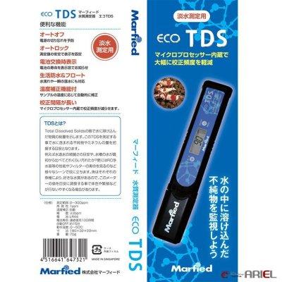 画像1: 【TDSメーター】水質測定器 エコ・TDSメーター